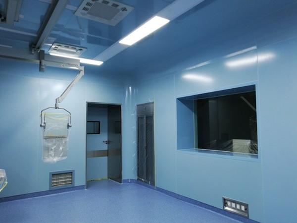 洁净抗菌无机预涂板在医院净化装饰区域中的应用