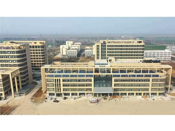 安徽宿州市第三人民医院—鲁泰医用无机预涂板应用
