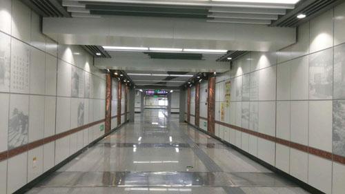 地铁通道500