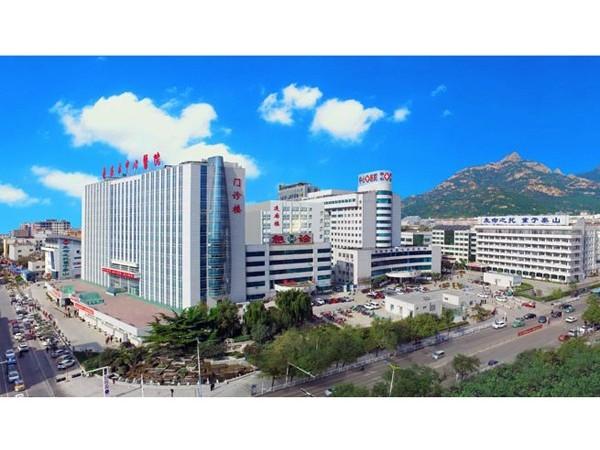 山东泰安市中心医院—鲁泰无机预涂板应用