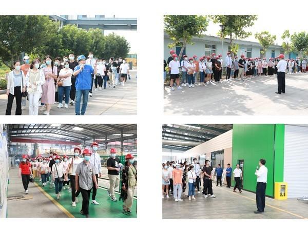 山东鲁泰建材科技集团举行员工子女高考录取新生道德教育活动