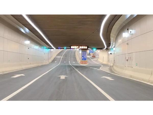 雄安K1快速路隧道--鲁泰隧道装饰板应用