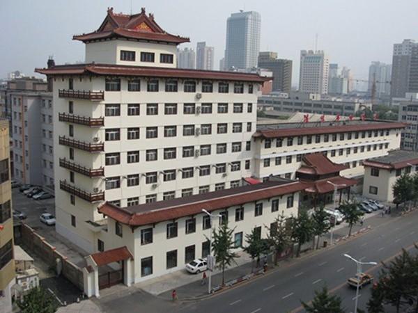 辽宁沈阳市中医院—无机预涂板项目
